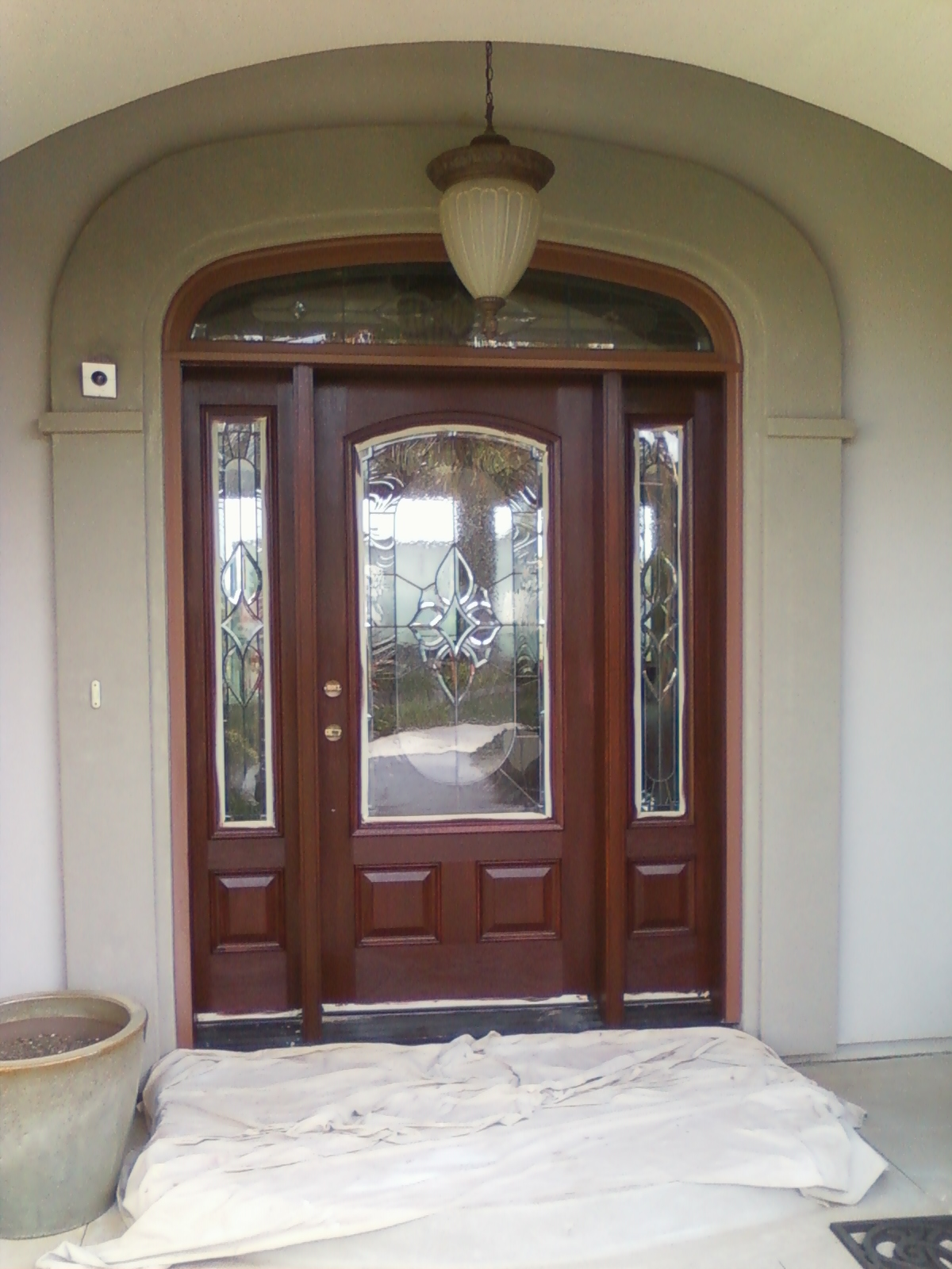 Attirant Consider Your Options Carefully, Because In Order To Change A Prefinished  Door With Opaque Stain, The Surface Will Need To Be Completely Sanded.