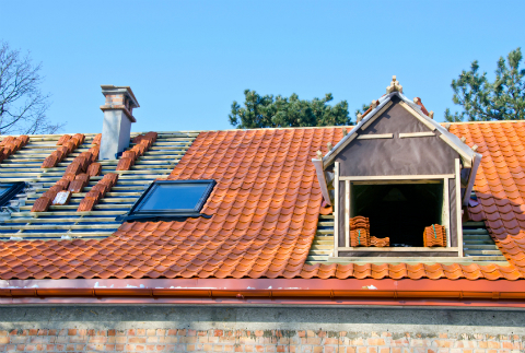 Clay Tile Roofing Installation