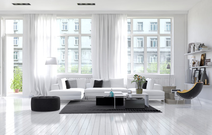 Living room windows a quick overview - What are floor to ceiling windows called ...